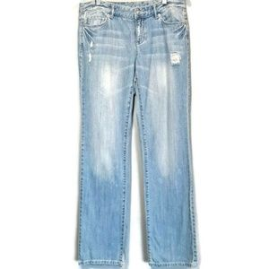 💜 Michael Kors Distressed Jeans Light Straight